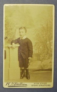 Charles North who was in the care of The Children's Society from 1884 to 1892