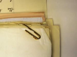 Rusty paper clip