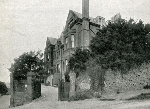 The exterior of St John's Convalescent Home, Brighton, taken from the home's 1938 annual report