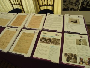Some of leaflets we took to the conference