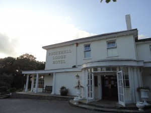 The conference venue, Buckerell Lodge Hotel in Exeter