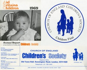 The Children's Society's branding from 1969 to 1981