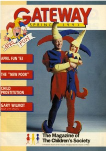 The cover of the Spring edition of Gateway in 1993