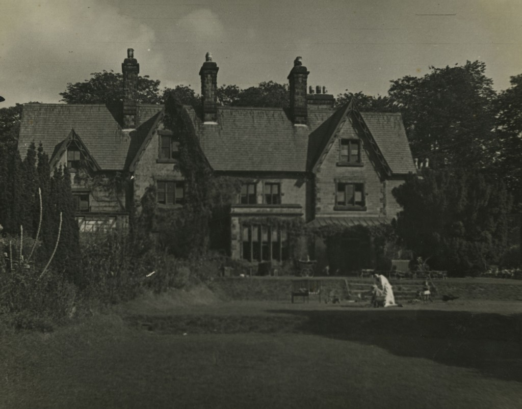 Gresford War Nursery and garden, 1942