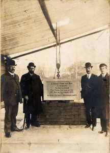 The laying of the foundation stone of St Aidan's Home, Tynemouth in 1905