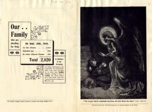 Christmas flyer, December 1900