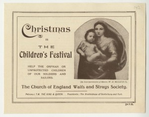 Fundraising flyer, December 1917