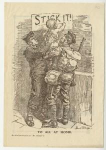 Stick It! flyer, January 1918