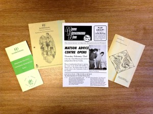 Leaflets from the Gloucestershire Diocesan Community Team, 1980s-1990 [The Children's Society Archive]