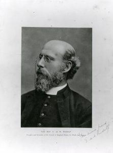 Edward Rudolf, the founder of the 'Waifs and Strays' Society