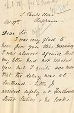 Image of Case 2 3. Letter from Miss S.  c. 17 October 1882  page 1