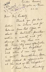 Image of Case 2 19. Letter from J.  11 January 1914  page 1