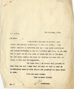 Image of Case 2 27. Letter to J.  7 October 1929  page 1