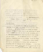 Image of Case 2 43. Letter to Mr Frost  3 February 1930  page 1