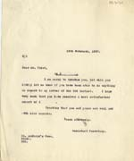 Image of Case 2 45. Letter to Mr Frost  13 February 1930  page 1
