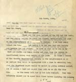 Image of Case 2 54. Letter to Mr Frost  6 March 1930  page 1
