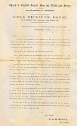 Image of Case 10 1. Application to Waifs and Strays' Society 24 February 1882  page 1