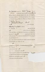 Image of Case 49 2. An agreement to place A. in the care of the Society  7 June 1882  page 1