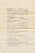 Image of Case 89 2. Agreement for E. to go into the Society's care 1 December 1882  page 1