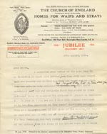 Image of Case 189 11. Letter (Draft) to Miss J. 27 August 1931  page 1