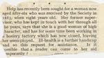 Image of Case 189 16. Notice in Our Waifs and Strays, September 1931, p 173  page 1