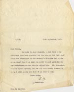 Image of Case 189 28. Letter from Miss Rushton 26 September 1931  page 1