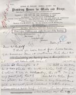 Image of Case 477 4. Letter from Alice Furneaux about the proposed removal of the girls to London  7 November 1893  page 1