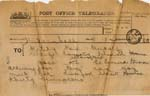Image of Case 542 9. Telegram announcing that F. was to be travelling to St Leonard's on Sea  1 March 1892  page 1