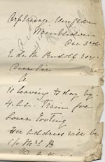 Image of Case 795 4. Letter from Rose Fitzgerald concerning A's placement in domestic service  3 December 1888  page 1