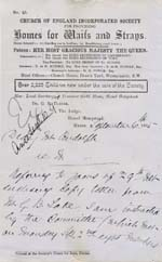 Image of Case 942 22. Letter from Hemel Hempstead about M's theft  6 September 1895  page 1