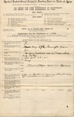 Image of Case 1138 1. Application to Waifs and Strays' Society c. May 1887  page 1
