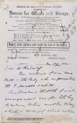 Image of Case 2258 8. Letter from Beccles, Suffolk 20 April 1892  page 1