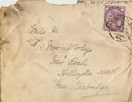 Image of Case 2716 4. Letter and Christmas card to M. from her brother 26 January 1891  page 1