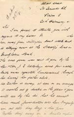 Image of Case 2716 10. Letter from M's brother 20 February 1891  page 1