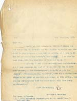 Image of Case 3271 60. Letter to F's employer  20 December 1926  page 1
