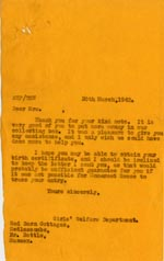 Image of Case 3271 67. Letter to F.  30 March 1942  page 1