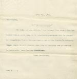 Image of Case 3303 5. Letter to Mrs S. 17 February 1899  page 1