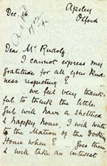 Image of Case 3392 6. Letter from Miss B. 16 December 1892  page 1