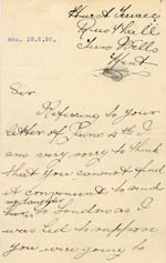 Image of Case 3574 9. Letter from S's father c. 9 June 1896  page 1