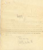Image of Case 4171 29. Copy letter from Revd Edward Rudolf responding to the telegram  29 March 1901  page 1