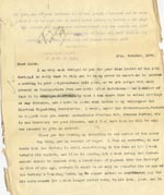 Image of Case 4172 9. Copy letter from Revd Edward Rudolf responding to the above letter  17 October 1900  page 1