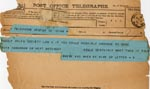 Image of Case 4172 28. Telegram from Mrs B. about travel arrangements  29 March 1901  page 1