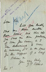 Image of Case 5008 6. Letter from J. E. Eddis 5 November 1897  page 1