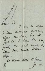 Image of Case 5008 7. Letter from J. E. Eddis 21 November 1897  page 1
