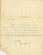 Image of Case 5008 16. Letter from Miss Woolley, Mildenhall Home to Miss Hall Hall 22 June 1899  page 1