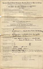 Image of Case 5929 1. Application to Waifs and Strays' Society 11 March 1897  page 1