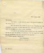 Image of Case 6001 4. Copy letter to J's foster mother  21 April 1900  page 1