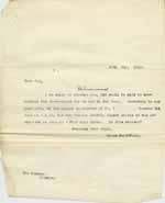 Image of Case 6001 48. Copy letter from Revd Edward Rudolf  29 May 1913  page 1