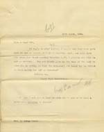 Image of Case 6334 9. Copy letter agreeing to the arrangements set out in above letter  10 March 1904  page 1