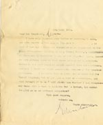 Image of Case 6351 14. Letter from Edward Rudolf to Mrs Brandreth, Sec. of Rose Cottage Home For Girls 3 March 1904  page 1